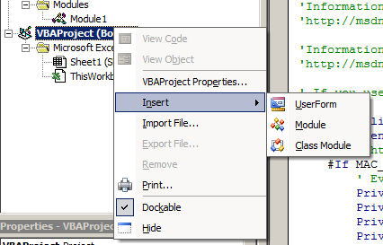 new-module-vba-coolprop